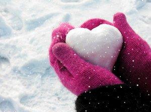 coeur-neige