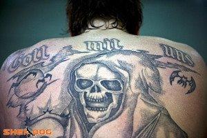 tatouage mafia russe